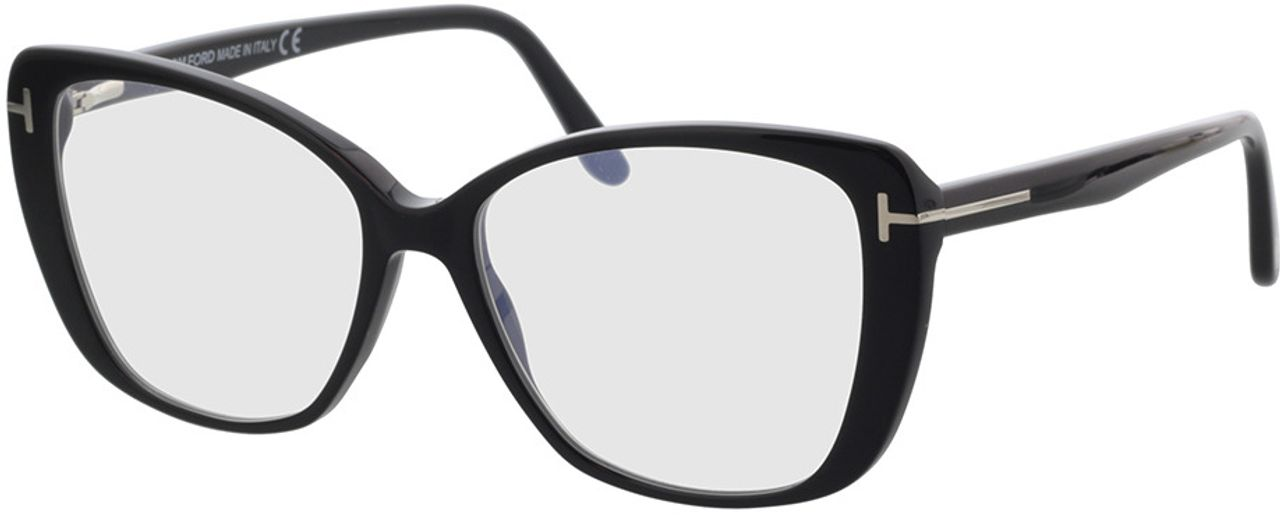 Picture of glasses model Tom Ford FT5744-B 001 54-15 in angle 330