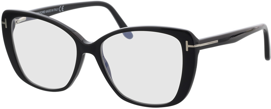 Picture of glasses model Tom Ford FT5744-B 001 54 in angle 330