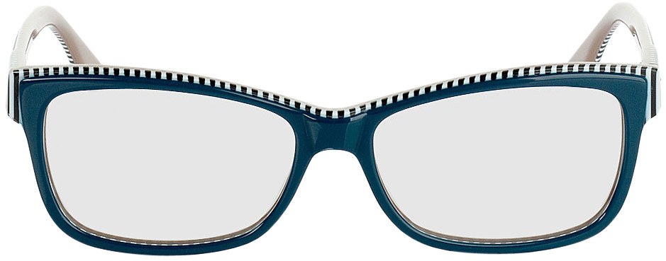 Picture of glasses model Newark-dunkelblau/beige in angle 0