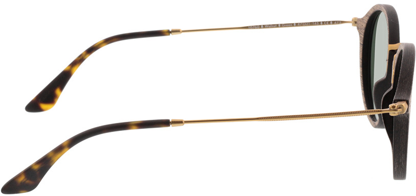 Picture of glasses model Wood Fellas Sunglasses Nymphenburg walnut/Goud 45-21 in angle 90