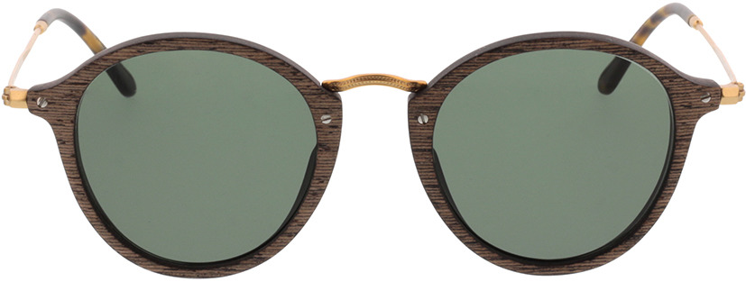 Picture of glasses model Wood Fellas Sunglasses Nymphenburg walnut/Goud 45-21 in angle 0