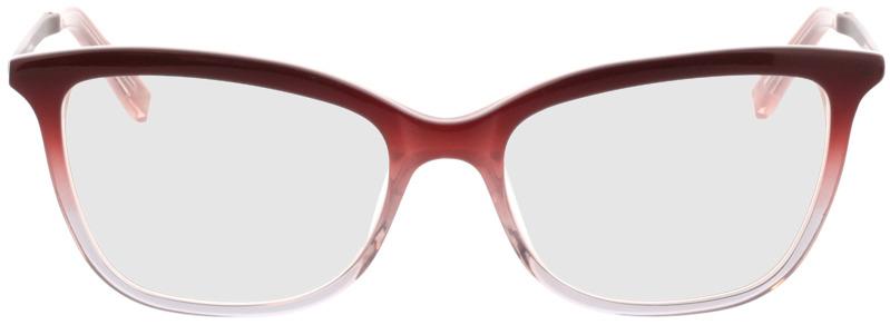 Picture of glasses model Liona-rot-verlauf in angle 0