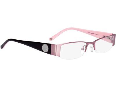 Brille Cremona-rosa/schwarz