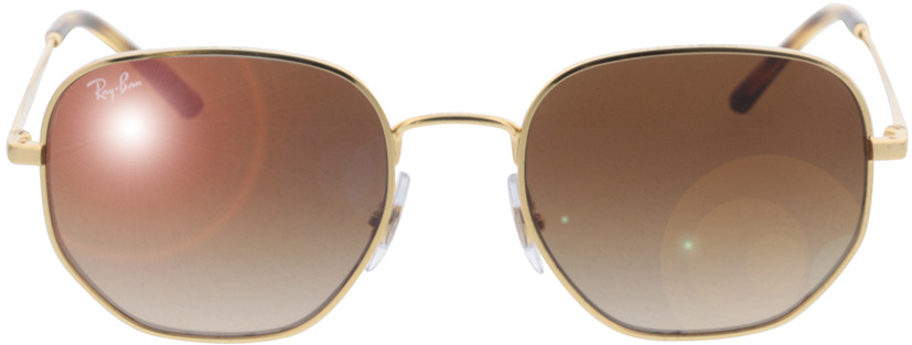 Picture of glasses model Ray-Ban RB3682 001/13 51-19 in angle 0