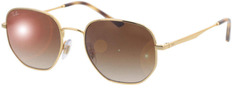 Picture of glasses model Ray-Ban RB3682 001/13 51-19 in angle 330