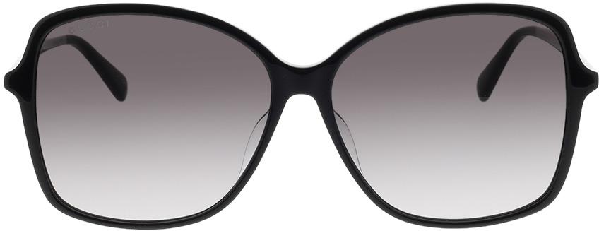 Picture of glasses model Gucci GG0546SK-001 60-14 in angle 0