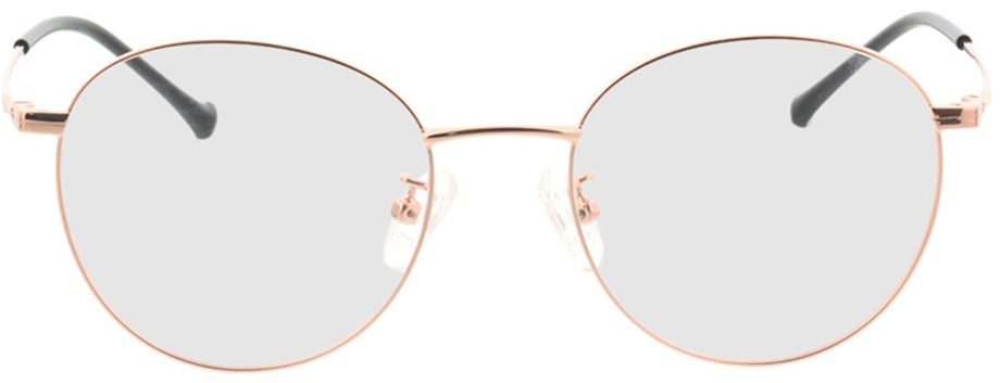 Picture of glasses model Charlottenburg-roségold in angle 0