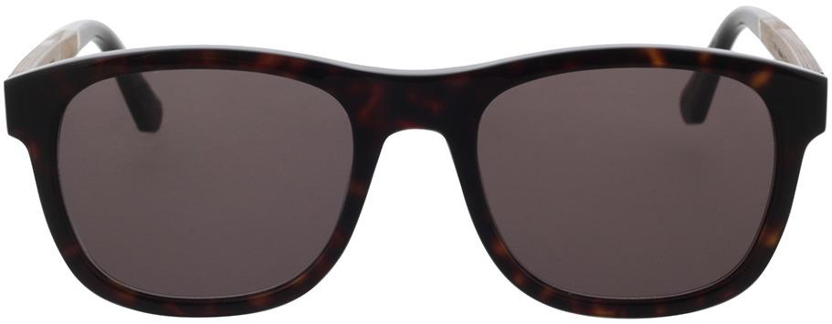 Picture of glasses model Wood Fellas Sunglasses Mirror walnut/havana 55-21 in angle 0