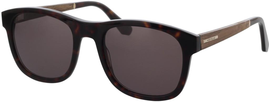 Picture of glasses model Wood Fellas Sunglasses Mirror walnut/havana 55-21 in angle 330
