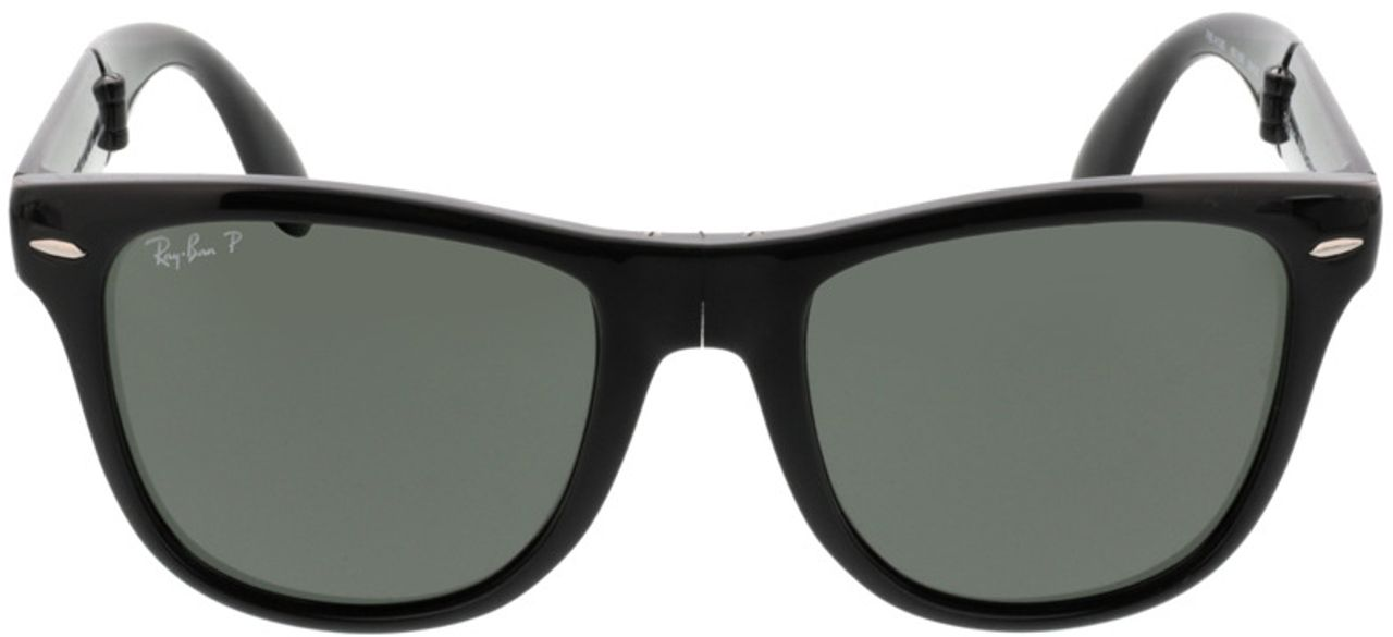 Picture of glasses model Ray-Ban Folding Wayfarer RB4105 601/58 54-20 in angle 0