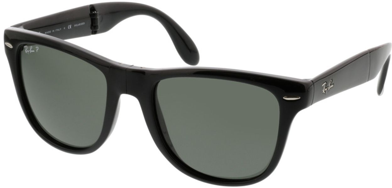 Picture of glasses model Ray-Ban Folding Wayfarer RB4105 601/58 54-20 in angle 330