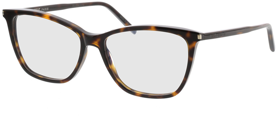 Picture of glasses model Saint Laurent SL 259-002 53-15 in angle 330