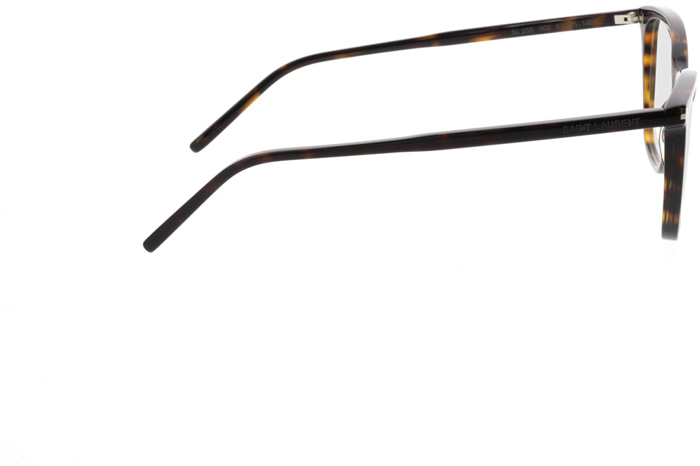 Picture of glasses model Saint Laurent SL 259-002 53-15 in angle 90