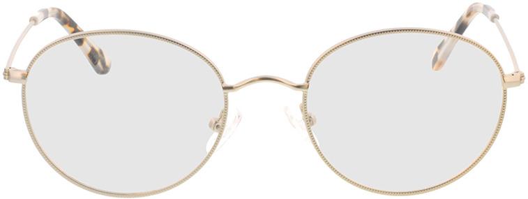 Picture of glasses model Zanna-matt silber in angle 0