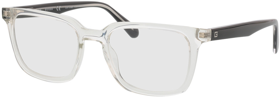 Picture of glasses model Guess GU1962 026 52-19 in angle 330