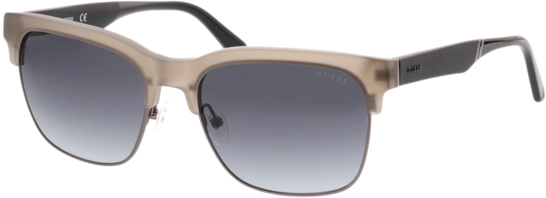 Picture of glasses model Guess GU6912 20B 58-19 in angle 330