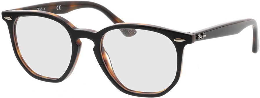 Picture of glasses model Ray-Ban RX7151 5909 50-19 in angle 330