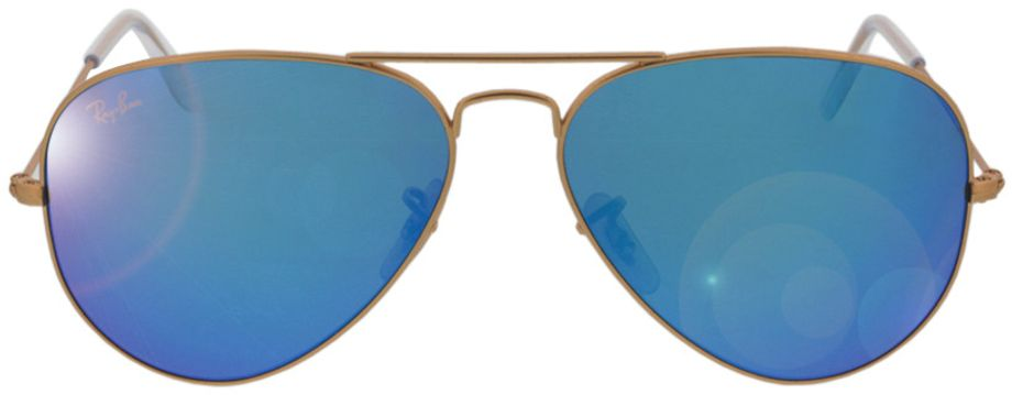 Picture of glasses model Ray-Ban Aviator RB3025 112/17 58-14 in angle 0