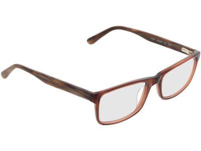 Brille Hastings-dunkelbraun-transparent