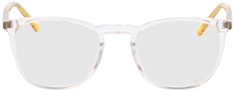 Picture of glasses model Soleil-transparente/amarelo in angle 0
