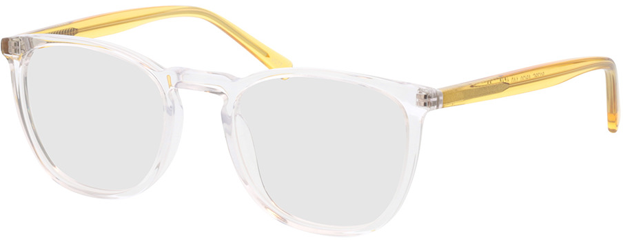 Picture of glasses model Soleil-transparente/amarelo in angle 330