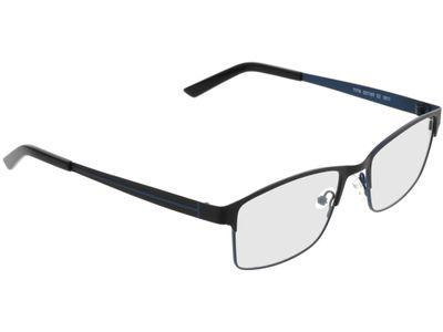 Brille Potenza-schwarz/blau