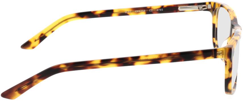 Picture of glasses model Malton-braun-meliert in angle 90