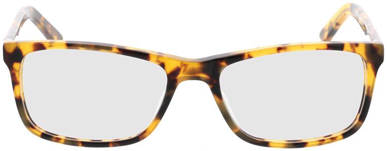 Picture of glasses model Malton-braun-meliert in angle 0