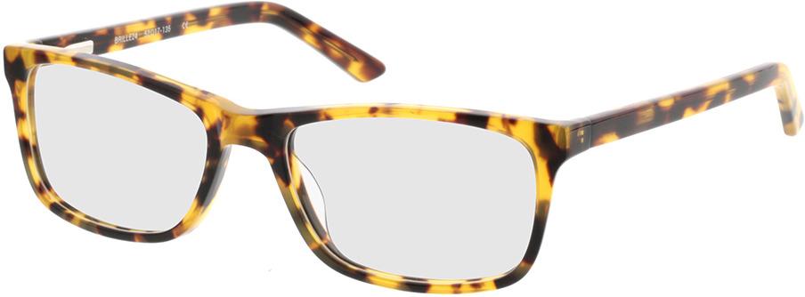 Picture of glasses model Malton-braun-meliert in angle 330