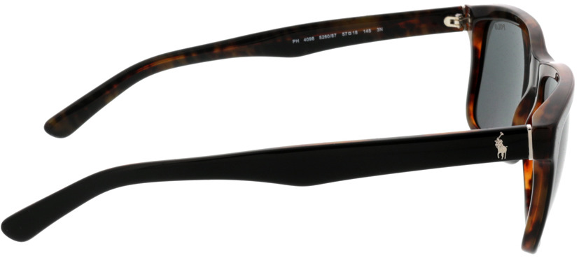 Picture of glasses model Ralph Lauren PH4098 526087 57 18 in angle 90
