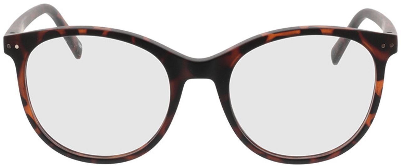 Picture of glasses model Lily-braun-meliert in angle 0