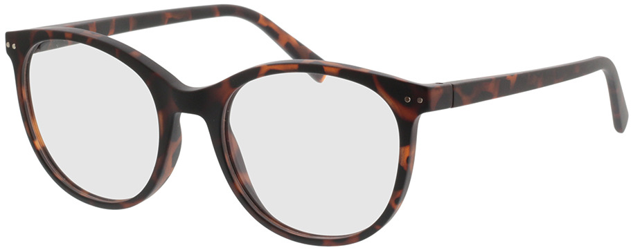 Picture of glasses model Lily-braun-meliert in angle 330