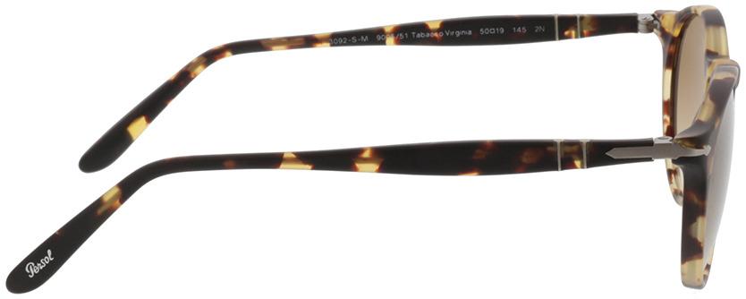 Picture of glasses model Persol PO 3092SM 900551 in angle 90