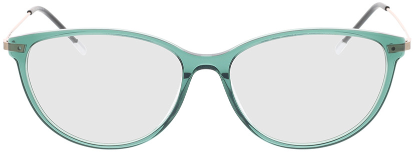 Picture of glasses model Comma, 70077 52 green 54-15 in angle 0