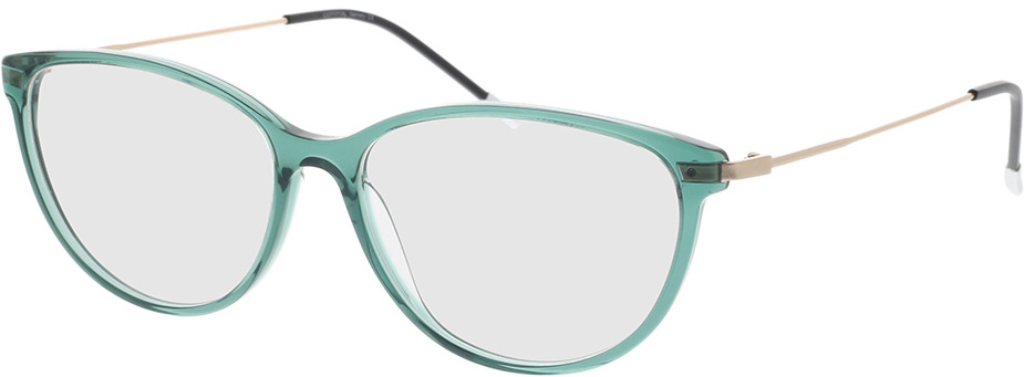Picture of glasses model Comma, 70077 52 green 54-15 in angle 330