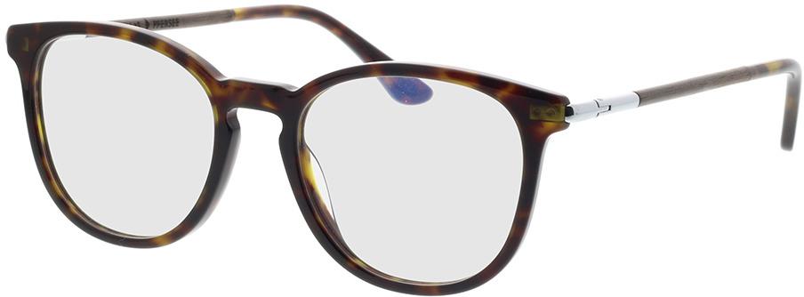 Picture of glasses model Wood Fellas Optical Pfersee walnut/havana 50-19 in angle 330