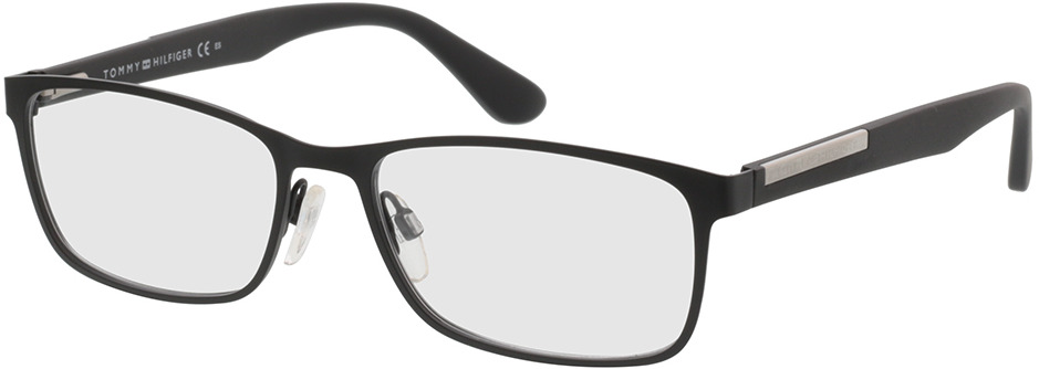 Picture of glasses model Tommy Hilfiger TH 1596 003 55-17 in angle 330