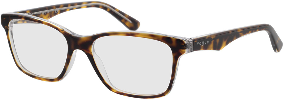 Picture of glasses model Vogue VO2787 1916 53-16 in angle 330