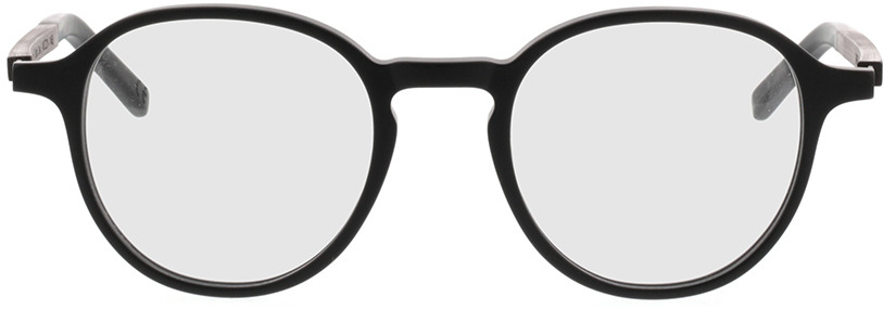 Picture of glasses model TAKE A SHOT Thisa Midnight Black RX: Schwarzes Eichenholz 48-21 in angle 0