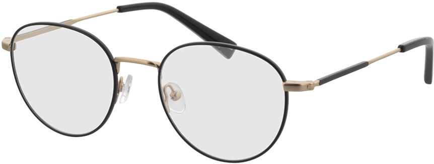 Picture of glasses model Cameron-schwarz/matt gold in angle 330