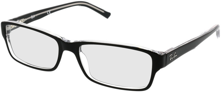 Picture of glasses model Ray-Ban RX5169 2034 54 16 in angle 330