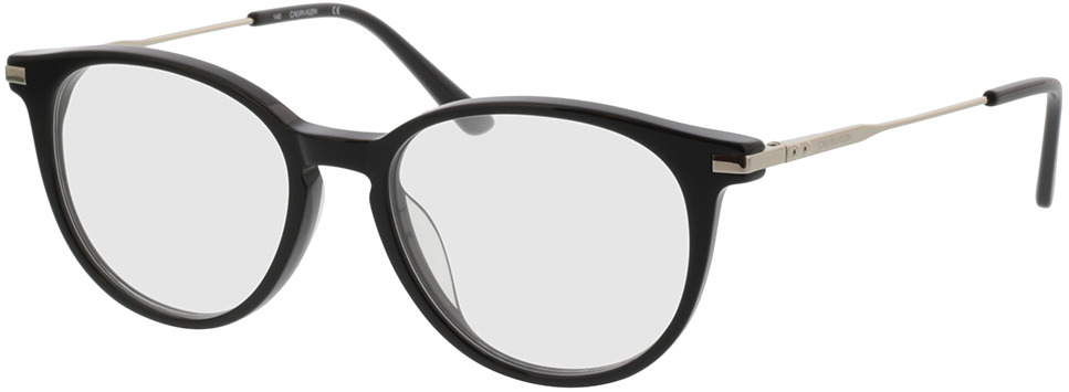 Picture of glasses model Calvin Klein CK19712 001 51-17 in angle 330
