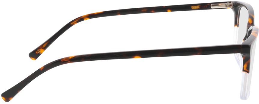 Picture of glasses model Corso-braun-meliert/transparent in angle 90