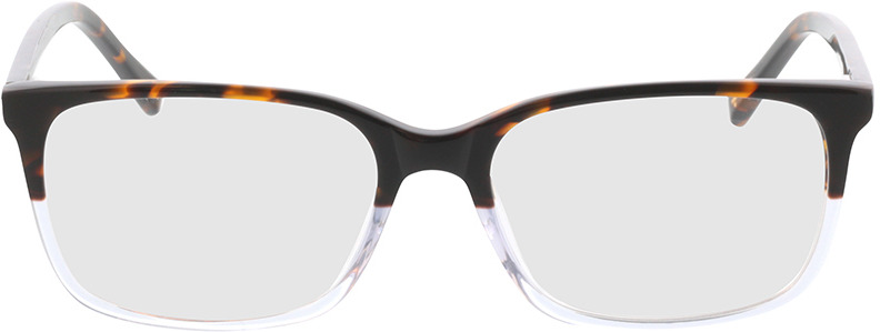 Picture of glasses model Corso-braun-meliert/transparent in angle 0