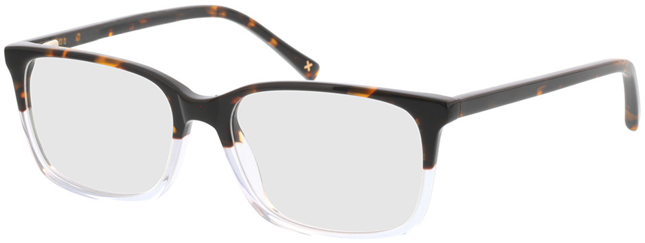 Picture of glasses model Corso-braun-meliert/transparent in angle 330