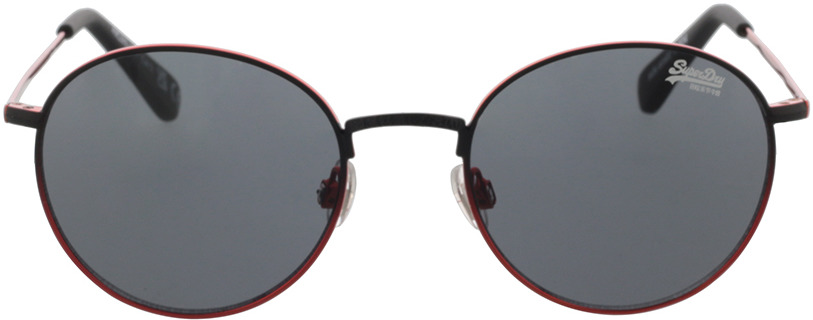 Picture of glasses model Superdry SDS Enso 004 black/orange 49-20 in angle 0