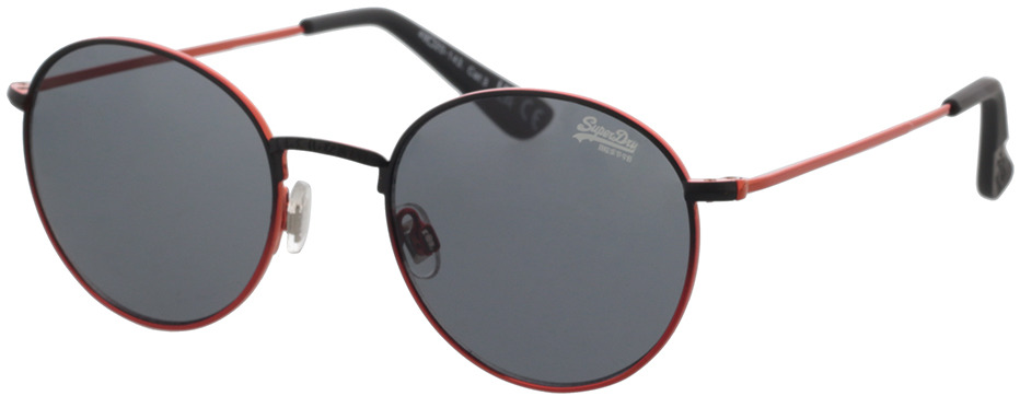 Picture of glasses model Superdry SDS Enso 004 black/orange 49-20 in angle 330