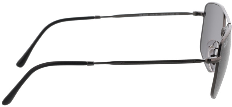 Picture of glasses model Ray-Ban RB3666 004/B1 56-17 in angle 90