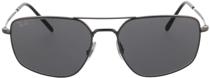 Picture of glasses model Ray-Ban RB3666 004/B1 56-17 in angle 0