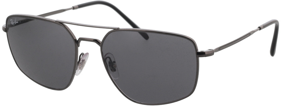 Picture of glasses model Ray-Ban RB3666 004/B1 56-17 in angle 330